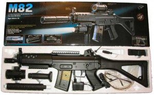 Double Eagle M82 Airsoft Rifle