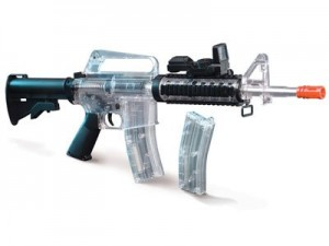 Crosman Stinger R34 - Clear Airsoft Rifle